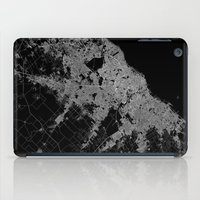argentina iPad Cases featuring Buenos Aires map Argentina by Line Line Lines