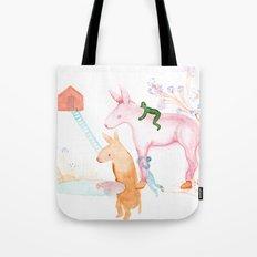 April Dream Tote Bag
