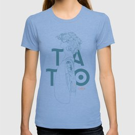 TATTOO CHICK WHITE T-shirt