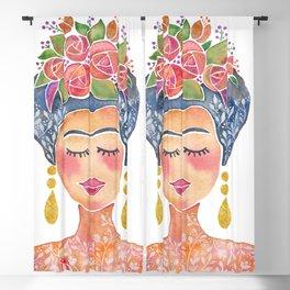 Frida Kahlo Blackout Curtain