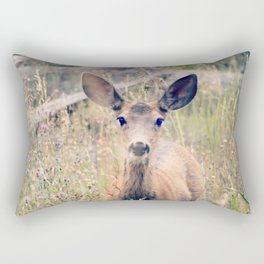 Doe Eyes Rectangular Pillow