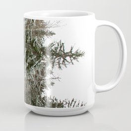 Snowy trees in the French Alps Mug