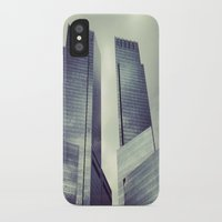buildings iPhone & iPod Cases featuring buildings by ALEXIS