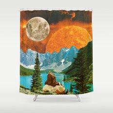 Big mineral Shower Curtain