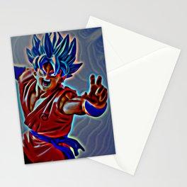 SSJG Goku Stationery Cards