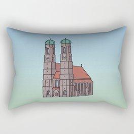 Munich Frauenkirche Rectangular Pillow