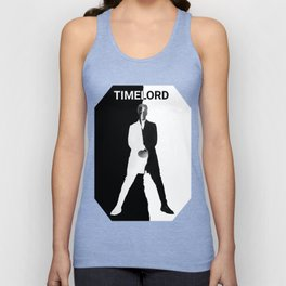 Abstract Timelord Art Unisex Tank Top