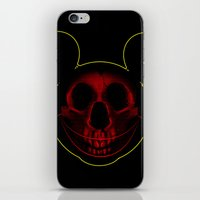 mickey iPhone & iPod Skins featuring Mickey by nicebleed
