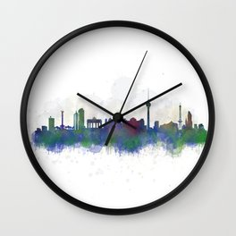 Berlin City Skyline HQ3 Wall Clock