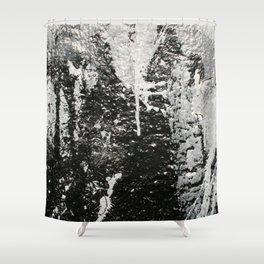Spray Paint Shower Curtain