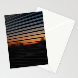 Sunset Patterns Stationery Cards