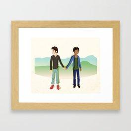 Second Blush Framed Art Print