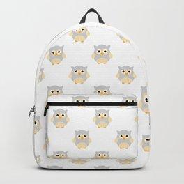 Owl Neck Gaiter Gray Owls Neck Gator Backpack