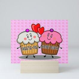 Sweetie-pie Honey bunch Mini Art Print