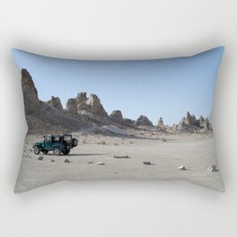 Escaping Megapolis Rectangular Pillow