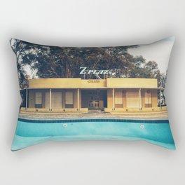 My empty summer Rectangular Pillow