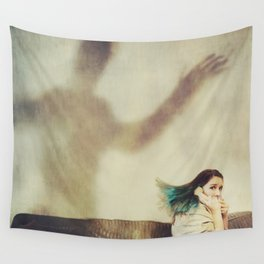The Phone Call 2 Wall Tapestry