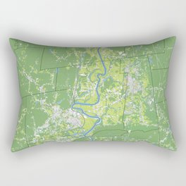 Pioneer Valley map Rectangular Pillow