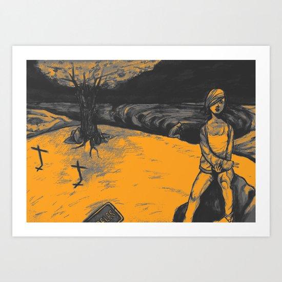 Locals Only - Sherman Oaks, CA Art Print