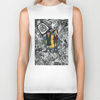 daria Biker Tanks featuring It's a Sick Sad World Daria by MyOwlHasAntlers