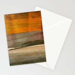 Landscape in the Middle East Stationery Cards