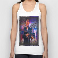 scarface Tank Tops featuring scarface by Vector Art
