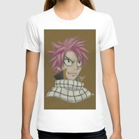 fairy tail T-shirts featuring Natsu - Fairy Tail by Kelly Katastrophe