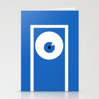 monsters inc Stationery Cards featuring Monsters inc (no title) by Citron Vert