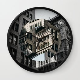 New York City in Focus/Out of Focus Wall Clock