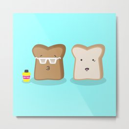 Toasty Cool Metal Print