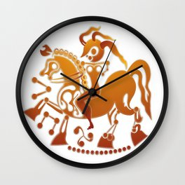 Boudicca takes the reigns. Wall Clock