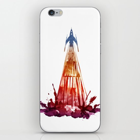 up,up and away iPhone & iPod Skin