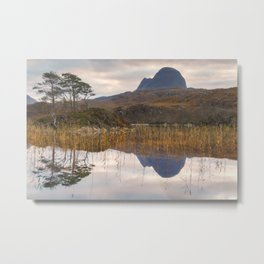 Suilven at Sunrise Metal Print