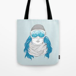 snowboarder girl Tote Bag