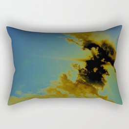 there's sulfur in the air Rectangular Pillow