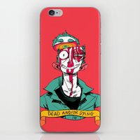 musa iPhone & iPod Skins featuring dead and/or dying by musa