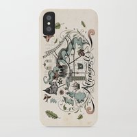 minneapolis iPhone & iPod Cases featuring Minneapolis Map by Jared Tuttle