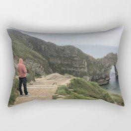 Path to Durdle Door England Rectangular Pillow
