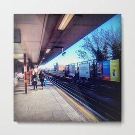 Art form platform north London. Metal Print