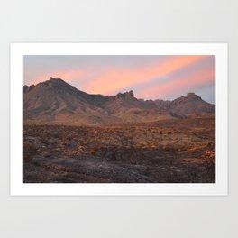 Sunrise at Big Bend I Art Print