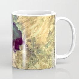 Colorful Earth Tones Quartz Crystal Coffee Mug