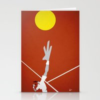 tennis Stationery Cards featuring Tennis by Osvaldo Casanova