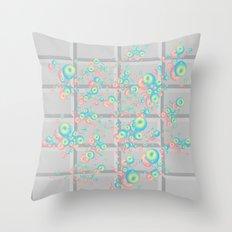 Push Button v.2 Throw Pillow
