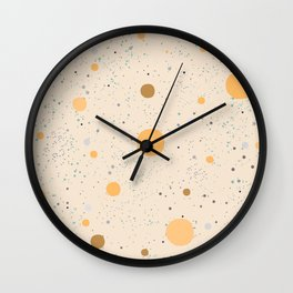 Cute Balls Wall Clock