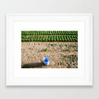 farm Framed Art Prints featuring Farm  by Eva Montauk