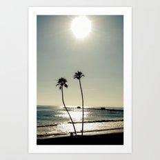 San Clemente Sunset Art Print