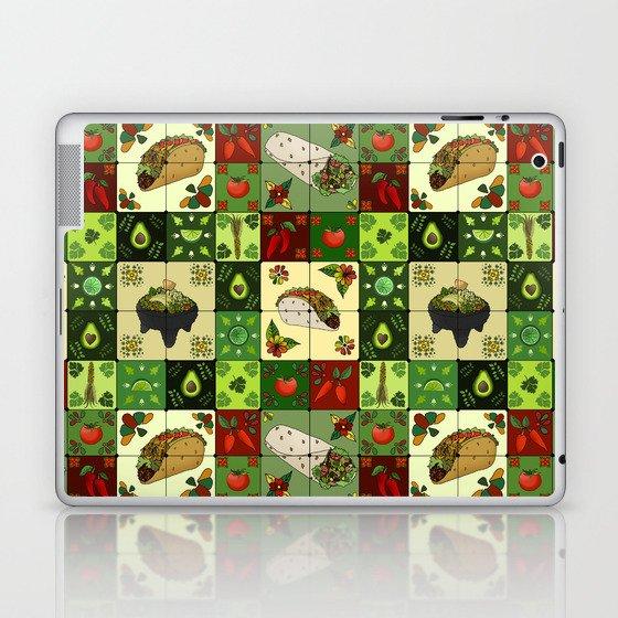 Mexican Restaurant Tiles Laptop & iPad Skin