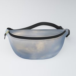 Abstract clouds Fanny Pack