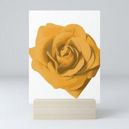 """Yellow Rose """"Queen of the Garden"""" Mini Art Print"""