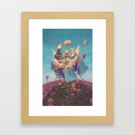 A Twilight Affair Framed Art Print